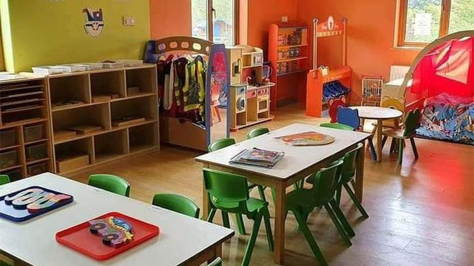 Mellowes Classroom Play Area
