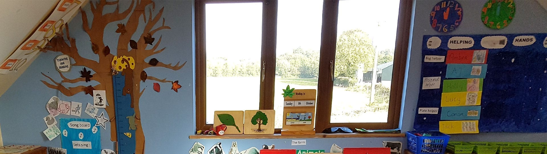 childcare learning room Mellowes playschool creche meath and westmeath