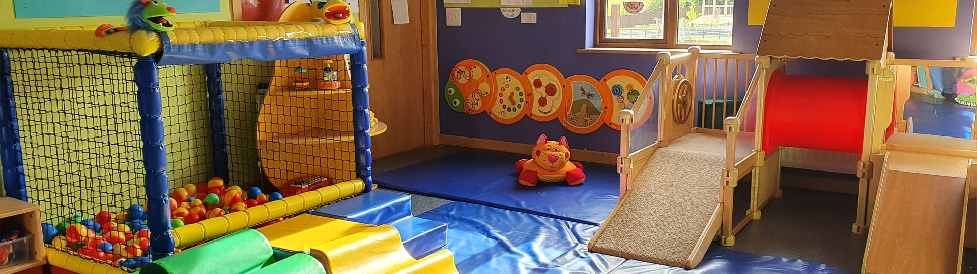 Wobblers Room High Quality Banner Childcare Mellowes